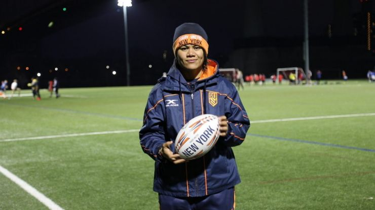 Meet Tiffany Faaee: the first female coach in U.S. men's professional rugby history