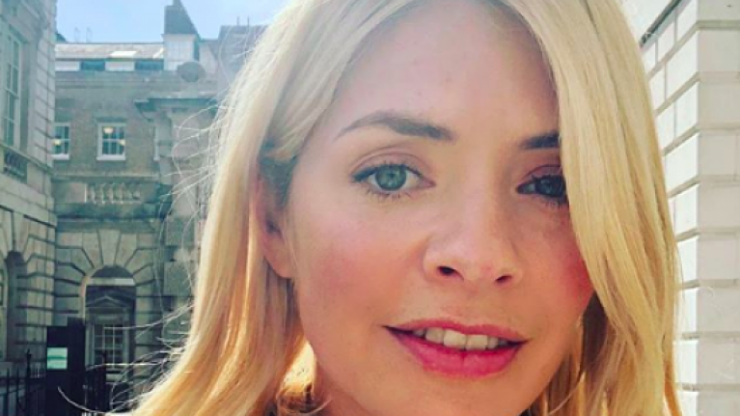 Holly Willoughby's gorgeous dress is from & Other Stories and we need it in our lives