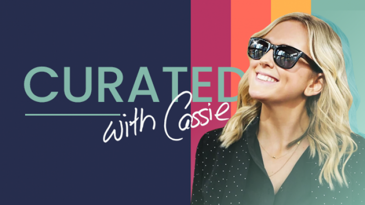 Sushi, lamps and cashmere : Our new show 'Curated With Cassie' is here and it has everything