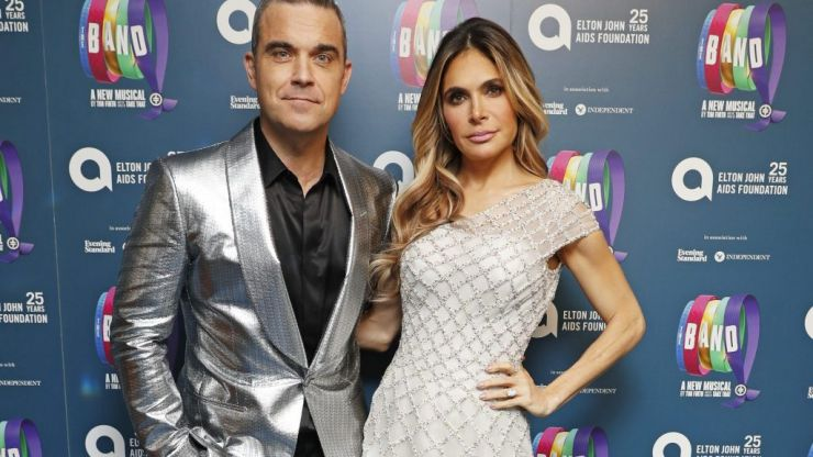 Ayda Field and Robbie Williams have welcomed their fourth child