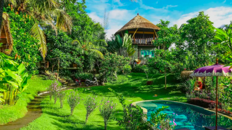 You and your mates can stay in this insane tree house in Bali for just €85 a night