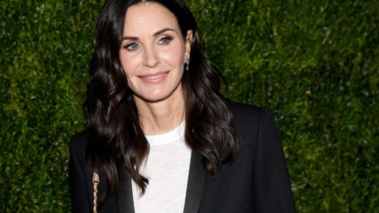 Courteney Cox just shared the CUTEST photo of her daughter and herself at their first dance