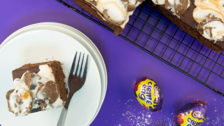There's a cafe dedicated to Cadbury Creme Eggs opening in Dundrum and we're drooling