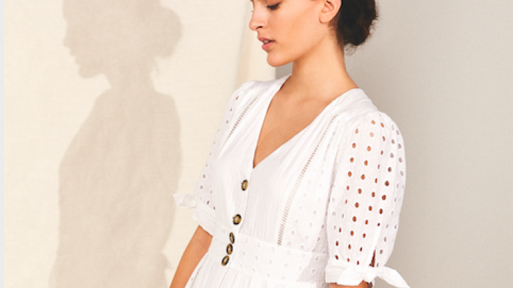 Brides to be, this Monsoon dress would be perfect for the day after your wedding