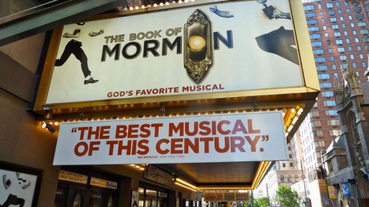 The Book of Mormon is going to be coming to Dublin