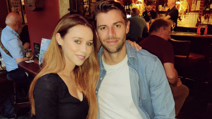 Una Healy and David Breen have reportedly broken up