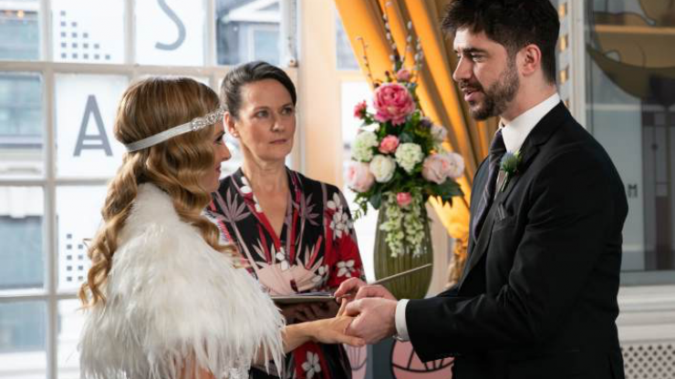 Coronation Street's Samuel Robertson weighs in on Sarah and Adam's future