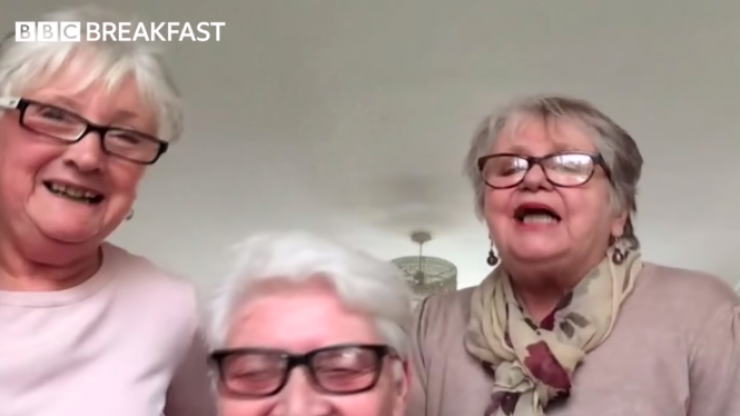 WATCH: Three grandmothers, friends for over 40 years, plan to self-isolate together