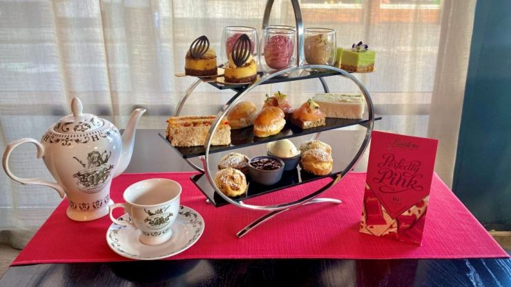 There's a Butlers Chocolates and Hendrick's Gin inspired afternoon tea at The Morrison