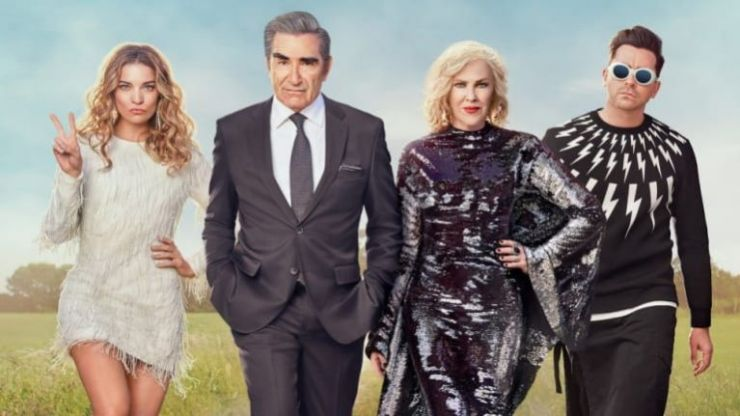Season six of Schitt's Creek will be coming to Netflix in May
