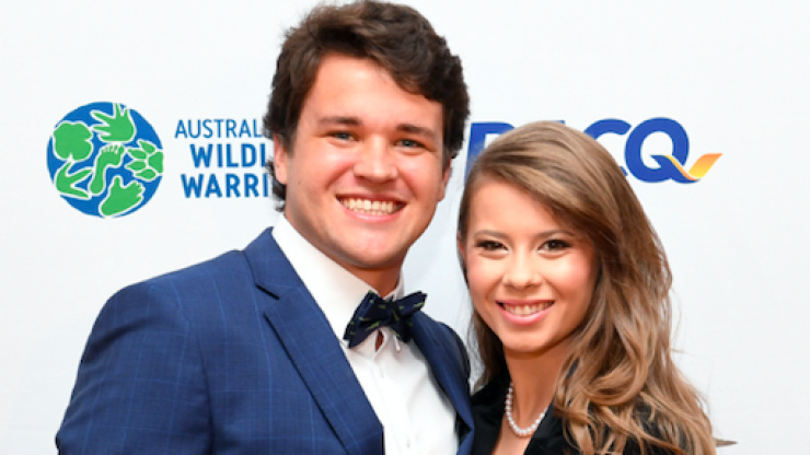 'Love wins': Bindi Irwin shares first photo from her wedding to Chandler Powell