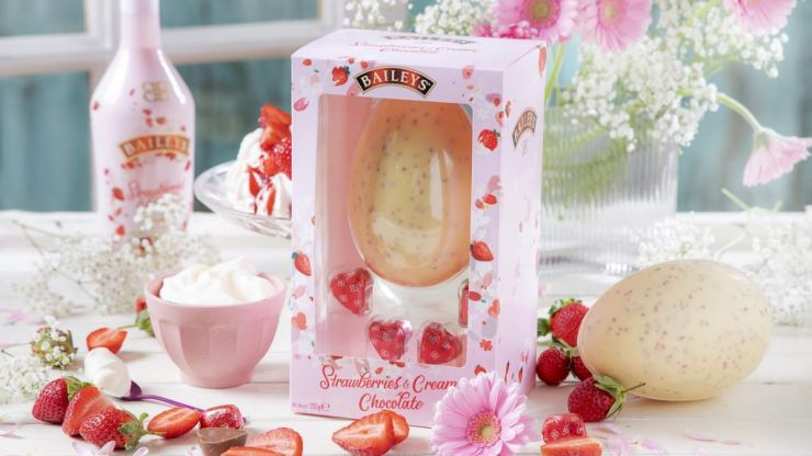 Baileys' Strawberries & Cream Chocolate Egg is the much-needed treat we need for Easter 2020