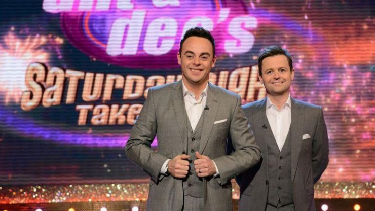 Ant and Dec are presenting tonight's Saturday Night Takeaway from their homes