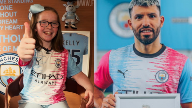 Nine-year-old Dublin girl wins Manchester City's 'Design a Kit' competition