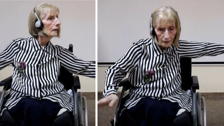 Former ballerina with Alzheimer's listens to Swan Lake and remembers routine