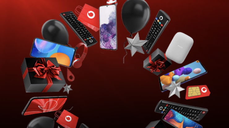 Vodafone's giving a superb Christmas gift to each and every customer, so go on, get yours now