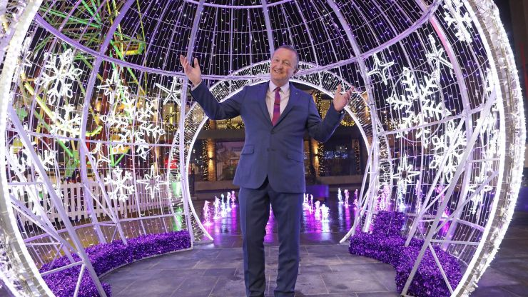 "Dundrum Town Centre turns into ""winter wonderland"" for Christmas"