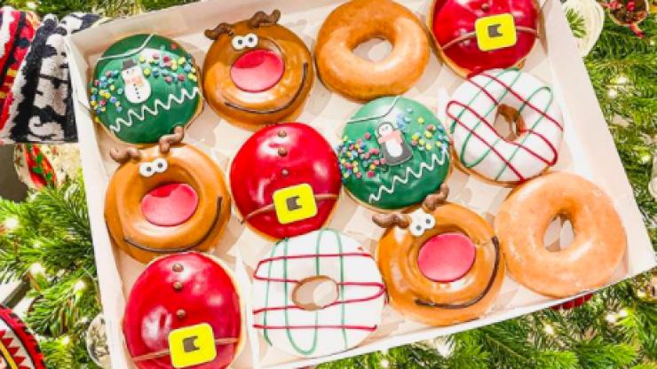 The Krispy Kreme Christmas jumper range looks too good to eat, but we'll give it a go