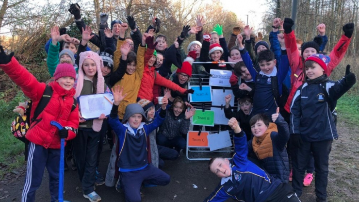 Team Hope delivering over 40,000 shoeboxes to children in need this Christmas