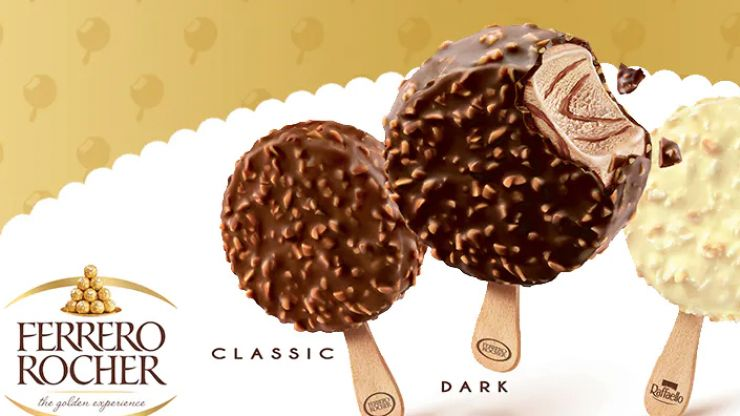Ferrero Rocher ice cream is happening this summer