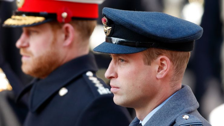 Why Prince Harry and William aren't walking together at Prince Philip's funeral