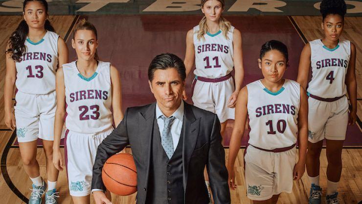 John Stamos' new teen comedy Big Shot is coming to Disney+ this week