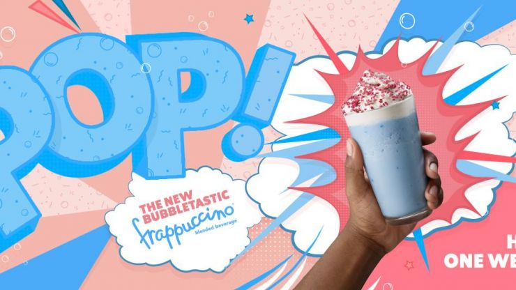 Starbucks has a bubblegum-flavoured frappuccino on their menu – but you need to hurry