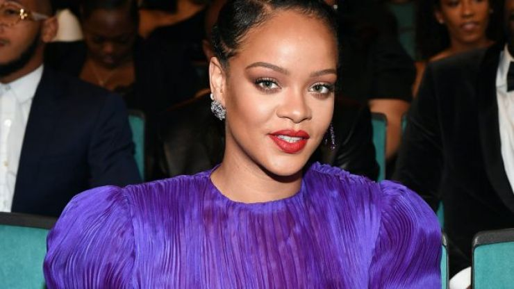 Rihanna has become her own neighbour and we're pretty jealous