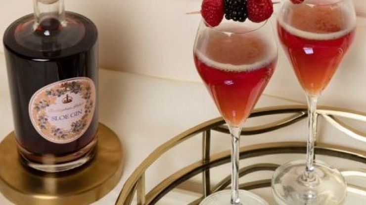 You can now buy Buckingham Palace sloe gin, as approved by the Queen