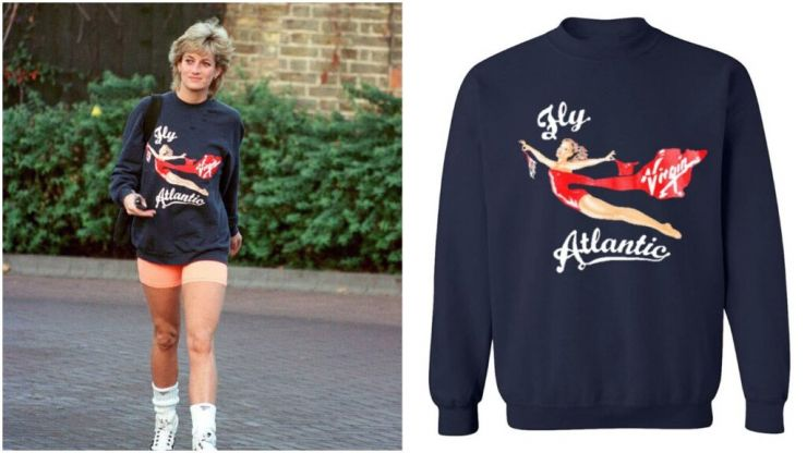 You can now get replicas of Princess Diana's iconic sweatshirts for less than €30
