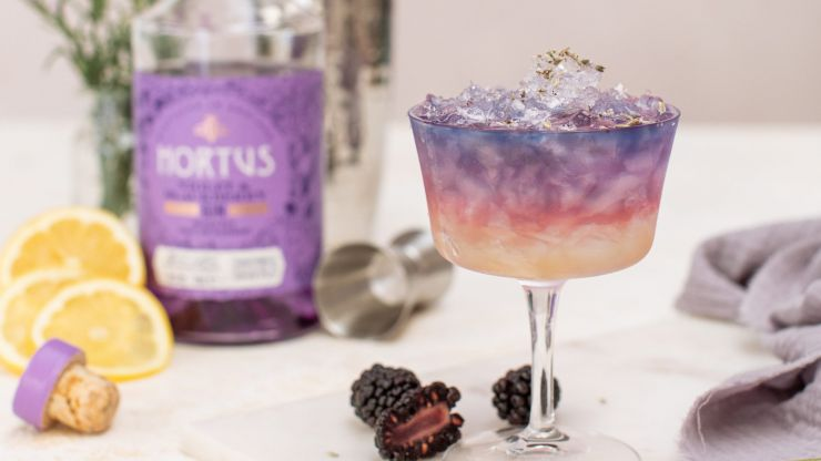 You can now get PURPLE gin from Lidl