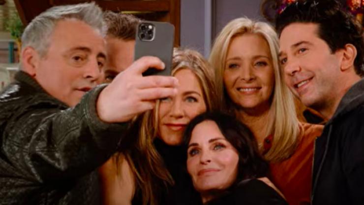 WATCH: The Friends cast do James Corden's Carpool Karaoke - with a twist