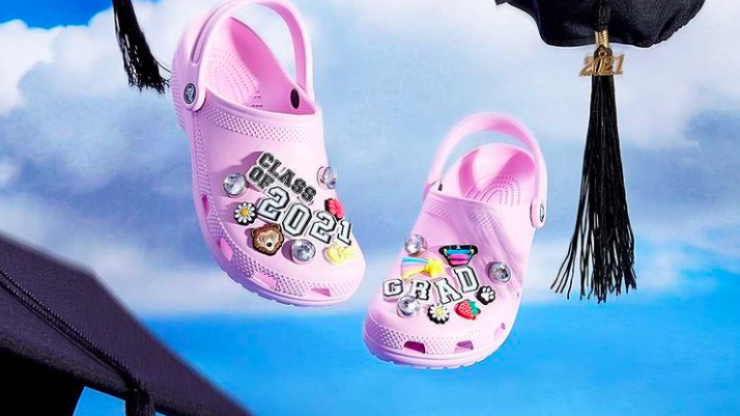 Balenciaga and Crocs team up to make stiletto sandals