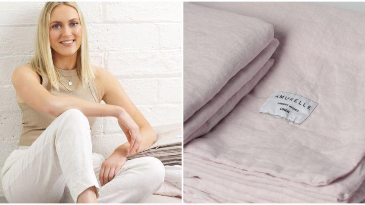 """I am a sleep enthusiast!"" Meet Hannah Murphy – the woman behind ethical Irish bedding company Amurelle"