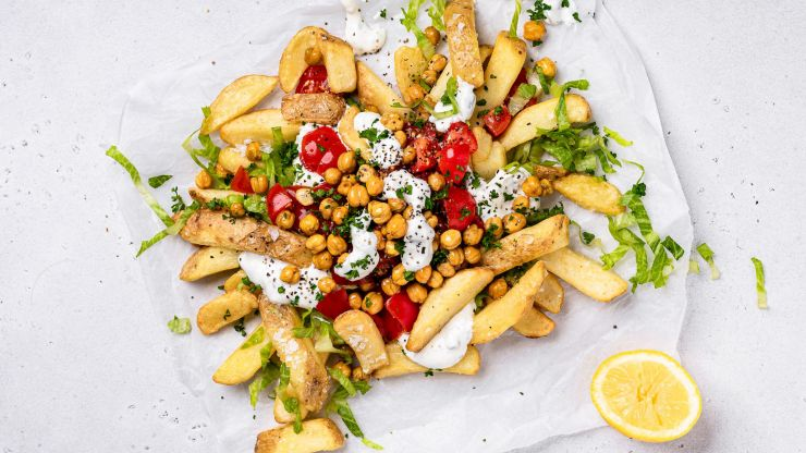 [CLOSED] How to make these delicious Mediterranean Loaded Chips in 4 easy steps and WIN a €200 One4All voucher