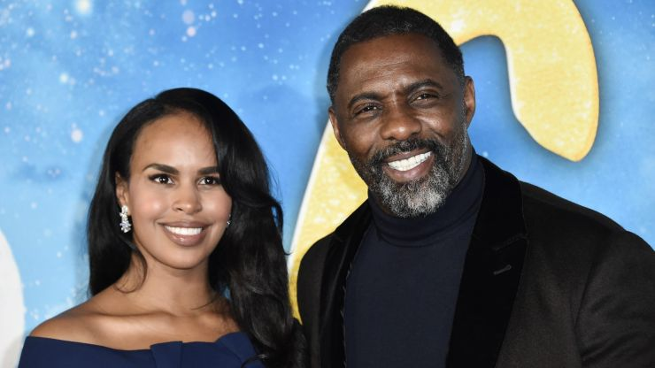 Idris Elba has a new podcast with his wife all about relationships