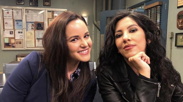 Brooklyn 99 cast members say an emotional goodbye ahead of the show's final season