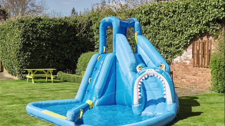 Aldi's new garden collection includes massive waterpark, slides and 14ft pools