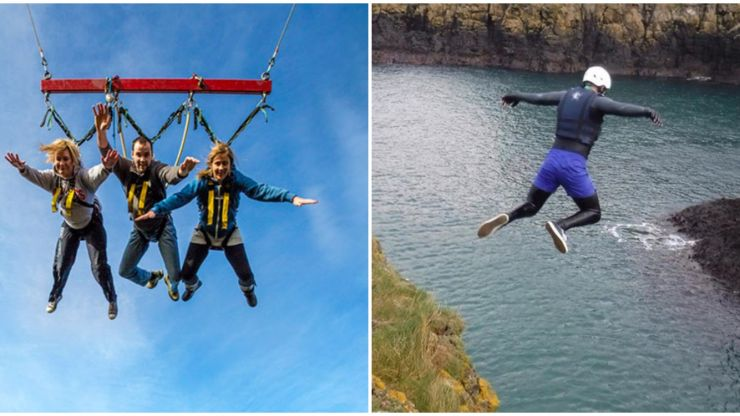 Calling all thrill-seekers: Here are the top adrenaline-filled attractions in Northern Ireland