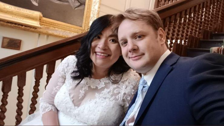 Lord Mayor of Dublin Hazel Chu is officially married