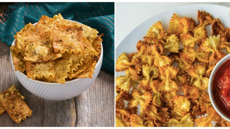 People are turning pasta into crisps – and actually, it's kind of delicious