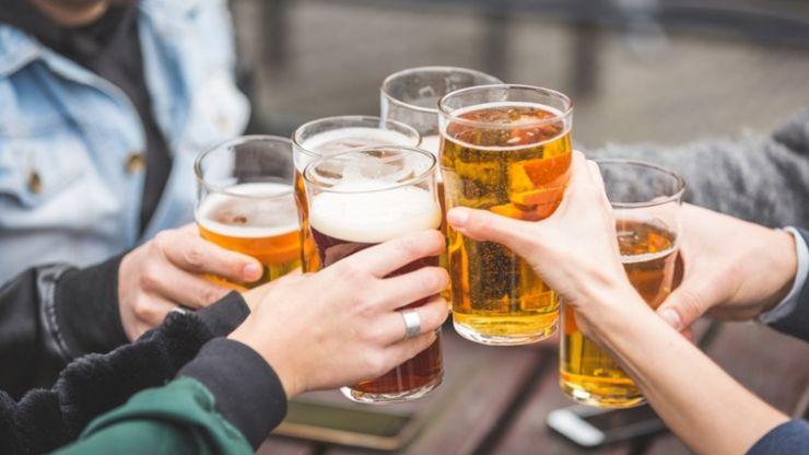Increase in weekly alcohol consumption for 18-24 year-olds during pandemic
