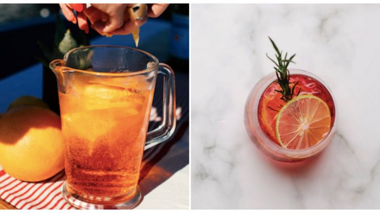 Spiked sparkling lemonade is the two-ingredient cocktail your summer holiday needs