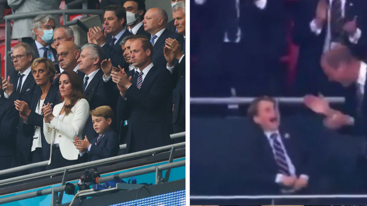 Prince George's reactions during the Euros match were too much
