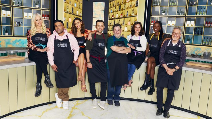 Cooking With The Stars starts tonight and it looks intense