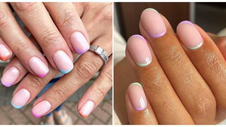 Rainbow tips are the cutest nail trend this summer – so bookmark these ideas for your next mani