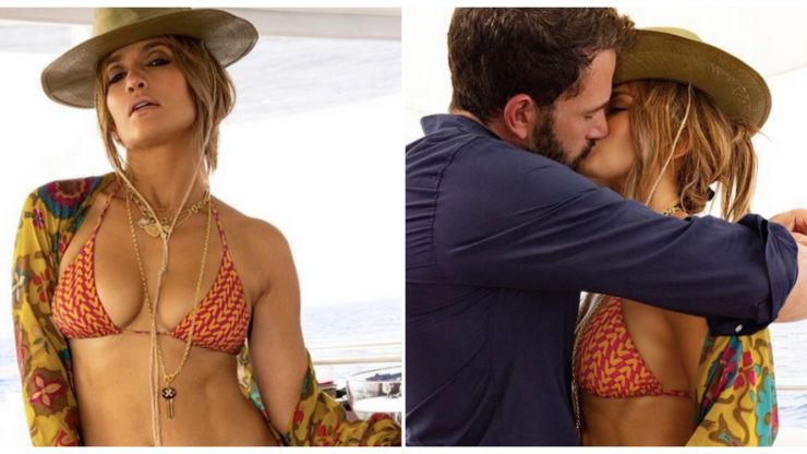 Jennifer Lopez just shared a steamy snap of herself and Ben Affleck – and WOW