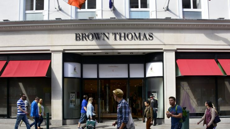 Brown Thomas and Arnotts are included in the Selfridges sale
