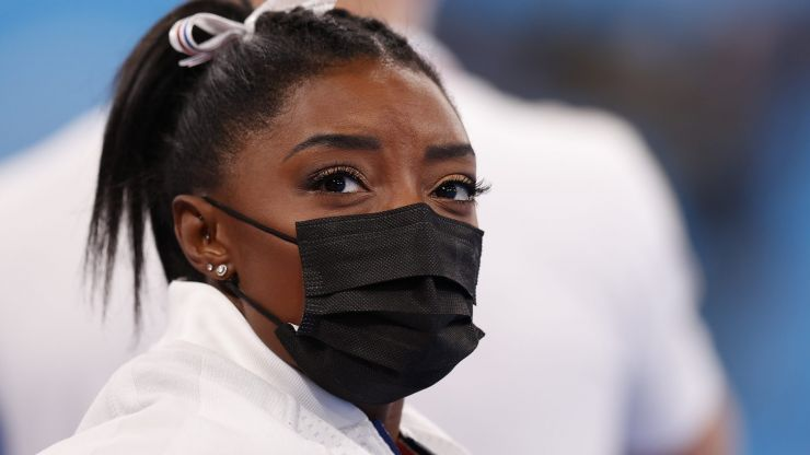 Simone Biles pulls out of all-around Olympics final due to mental health