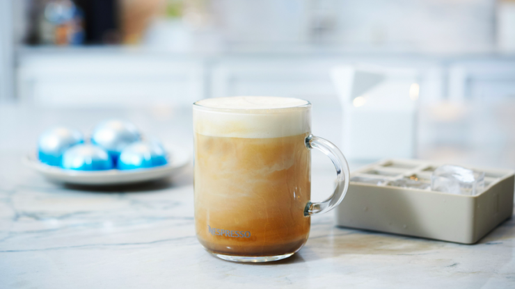 Nespresso has shared the most delicious recipe for a tropical flavoured iced coffee